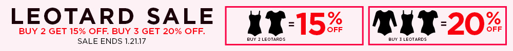 Leotard Sale