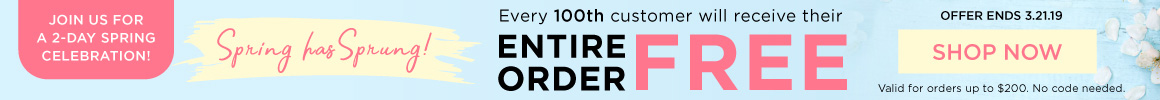 Every 100th order is free