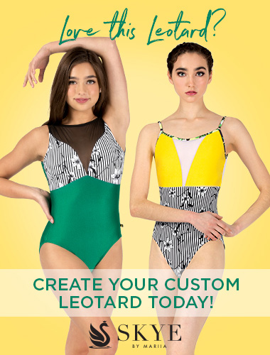 Ad for custom leotards