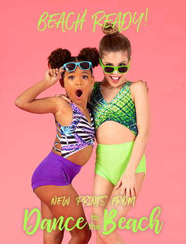 Ad for Dance to the Beach styles