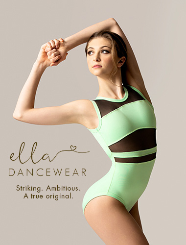 Ad for Ella Dancewear