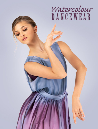Ad for Watercolour Dancewear