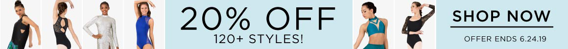 ad for 20% off sale on 120 styles