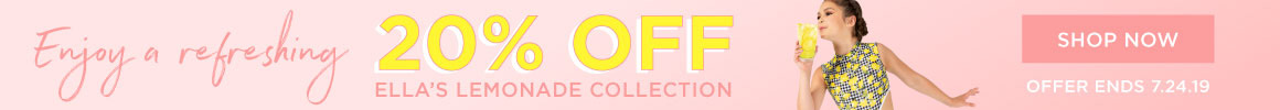 20% off select Ella Lemonade styles