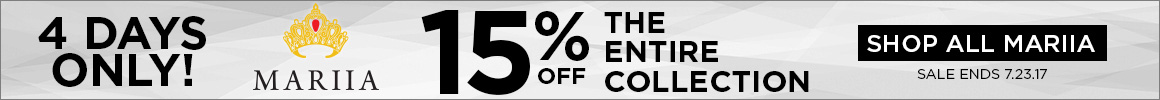 15% off Marria brand items