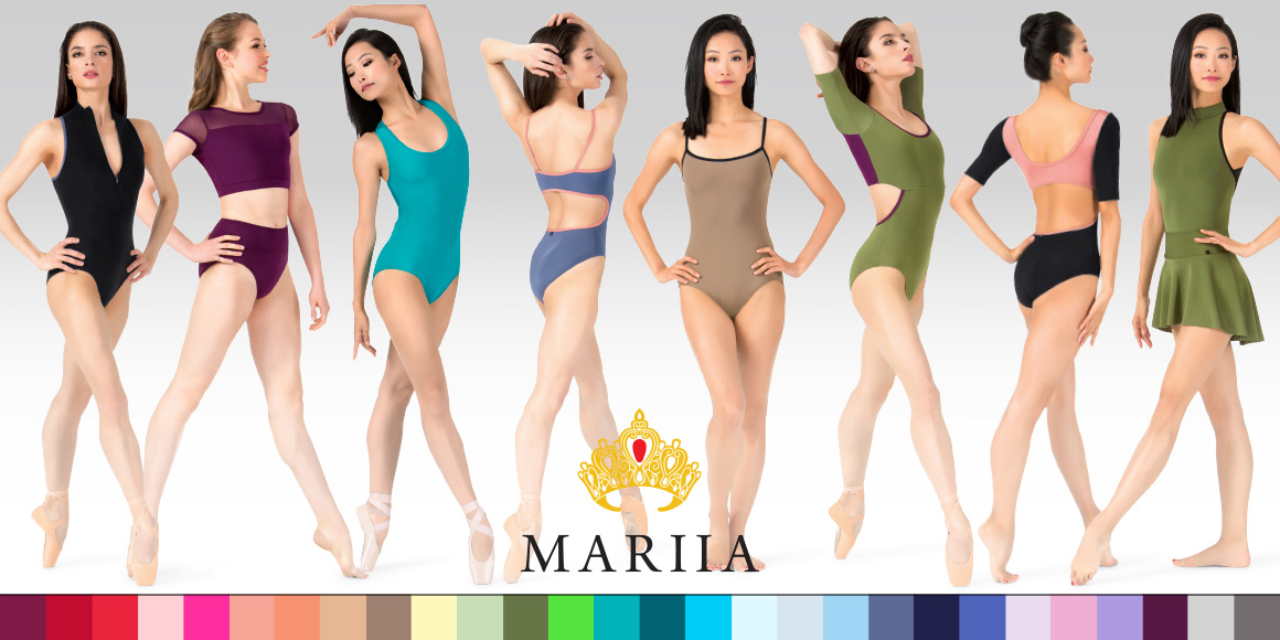 Selection of Mariia leotards