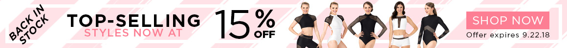 Top-selling styles now 15% off