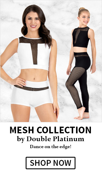 Double Platinum Mesh Collection styles