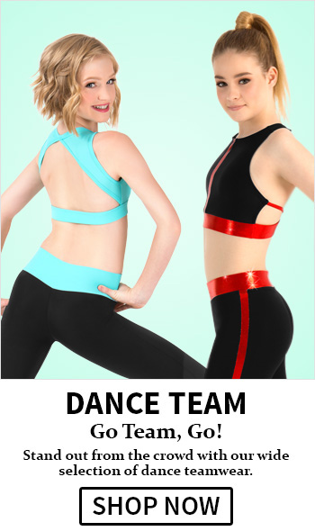 Great selection of dance teamwear