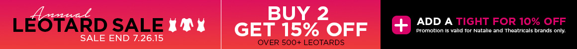 Annual Leotard Sale