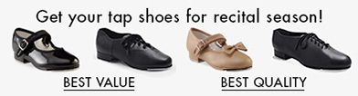 ad for tap shoes
