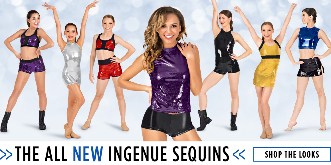The ALL new Ingenue Sequins