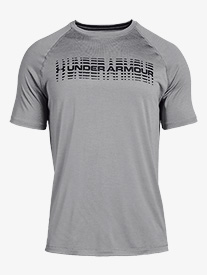 Under Armour - Mens Tech Graphic Short Sleeve Workout Top