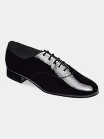 Supadance - Mens Lace-Up Patent Ballroom Dance Shoes