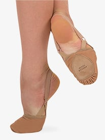 Body Wrappers - Womens 4-Way Total Stretch Lyrical Half Sole
