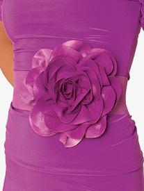 Dance America - Womens Silk Floral Belt