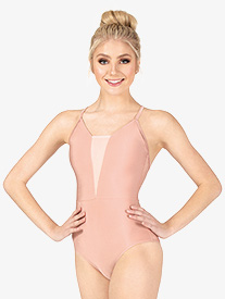 Bullet Pointe - Womens V-Front Camisole Leotard