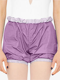 Bullet Pointe - Womens Reversible Warm Up Shorts