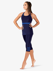 BalTogs - Womens Team Compression Cropped Leggings