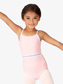 BalTogs - Girls Mesh Waist Insert Camisole Leotard