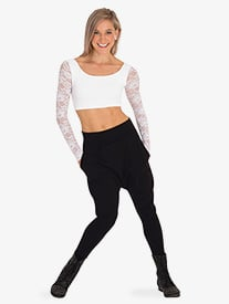 Body Wrappers - Womens Cotton Dance Harem Pants