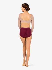 Body Wrappers - Womens Pinched Back Jazz Cut Dance Briefs