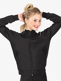 Dance Department - Womens Team Zip Up Long Sleeve Jacket