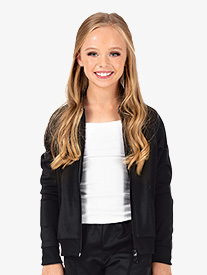 Dance Department - Girls Team Zip Up Long Sleeve Jacket