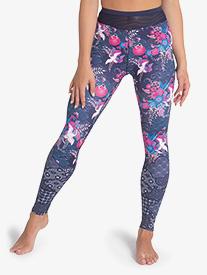 """Sylvia P - Womens """"Geisha Girl"""" Printed Dance Leggings"""