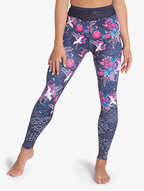 "Sylvia P - Girls ""Geisha Girl"" Printed Dance Leggings"