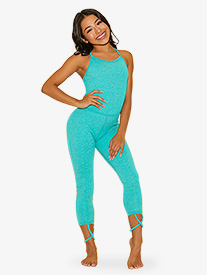 "Kandi Kouture - Girls ""The Diva Suit"" Camisole Dance Unitard"