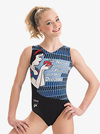 GK Elite - Girls Disney Dreamy Snow White Leotard