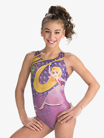 GK Elite - Girls Disney Rapunzel's Rose Leotard