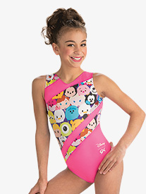 GK Elite - Girls Disney Tsum Tsum Mania Leotard