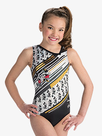 GK Elite - Girls Disney Mickey Mouse & Minnie Mouse Leotard