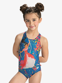 GK Elite - Girls Disney Elena Flower Power Leotard