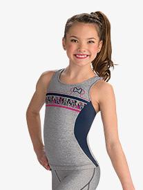 GK Elite - Girls Disney Minnie Mouse Sport Long Tank