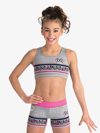 GK Elite - Girls Disney Minnie Mouse Sport Shorts