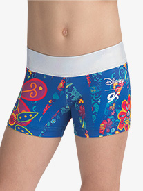 GK Elite - Girls Disney Elena Flower Power Shorts