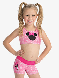 GK Elite - Girls Disney Starring Minnie Mouse Shorts