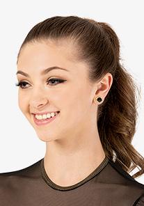 Go Girl - 10mm Celestial Button Post Earrings