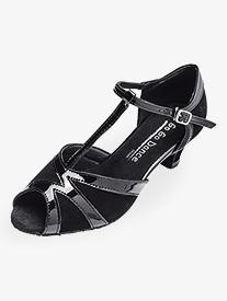 "Go Go - Womens 1.3"" Heel T-Strap Ballroom Dance Shoes"
