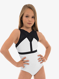 "Oh La La Dancewear - Girls ""The Vibe"" V-Back Tank Leotard"