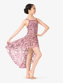 Ingenue - Girls Performance Sequin Lace Camisole Dress