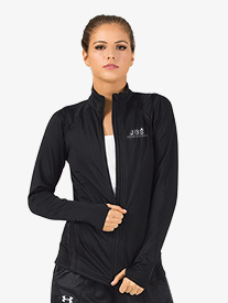 Joffrey Ballet School - Girls Zip-Up Long Sleeve Dance Jacket