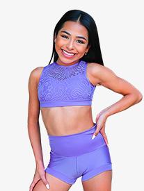 Kandi Kouture - Womens Banded Dance Shorts