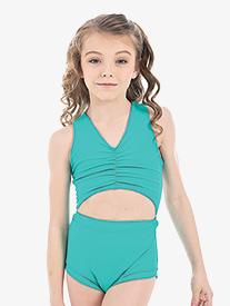 "Oh La La Dancewear - Girls Lilly K ""Crown Jewel"" Tank Leotard"