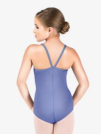 Motionwear - Girls V-Strap Back Camisole Leotard