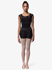 Mirella - Womens Ripstop Warm Up Shorts