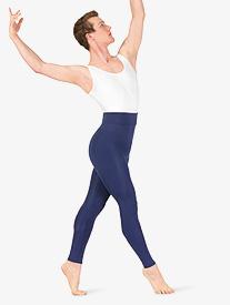 Mariia - Mens High Waist Matte Dance Leggings
